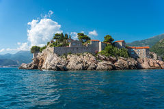Look San Stephane from the sea Royalty Free Stock Images