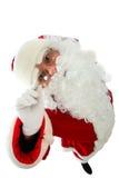 Look santa Royalty Free Stock Image