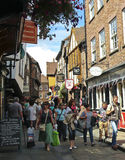 A Look at the Shambles, York, England Stock Photo
