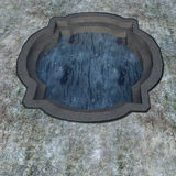 Look at a small pool or water tank Royalty Free Stock Images