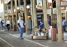 A Look at Stockyards Station, Fort Worth Stockyards Stock Photo