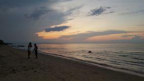 Guanabo beach cuba Royalty Free Stock Image