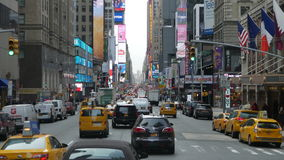 A look at times square Stock Photography