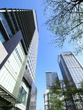 Look upward skyscrapers Royalty Free Stock Photo
