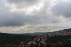 A look at the Veliko Tarnovo landscape Stock Image