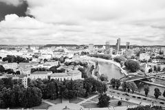 Look at the Vilnius. Stock Photos