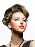 Look of woman Royalty Free Stock Images