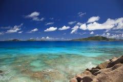 Look at the wonderful, Caribbean sea Royalty Free Stock Image
