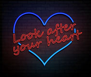 Look after your heart. Royalty Free Stock Photo