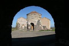 Looking Through. Church in Sardinia royalty free stock photos