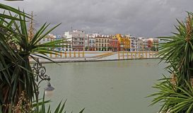 Views of Seville in Spain stock photography