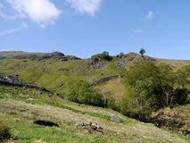 Looking across Combe gill to Thornythwaite Fell Stock Images