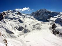Swiss Alps Glacier Stock Photography
