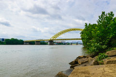 Looking across the Ohio river Royalty Free Stock Image