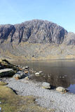 Stickle Tarn and Pavey Ark, English Lake District Royalty Free Stock Photo
