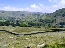 Looking across to Arnison Crag, Lake District Stock Image