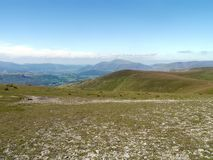 Looking across to Watson`s Dodd, Lake District Royalty Free Stock Photos