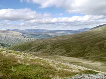 Looking across to the Wythburn Fells, Lake District Stock Photography