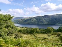 Looking across Ullswater, Lake District Stock Image