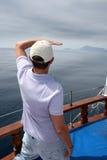 Looking ahead stock photos
