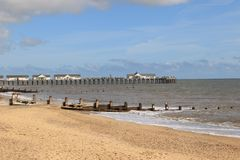 The Pier at Southwold Stock Photo