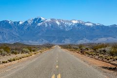 A Road in New Mexico stock images
