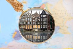 Looking in on Amsterdam Royalty Free Stock Images