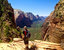Looking at Angels landing Royalty Free Stock Images