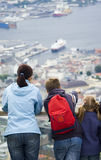 Looking at Bergen. Royalty Free Stock Photos
