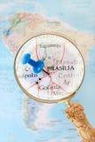 Looking in on Brasilia, Brazil Stock Photos