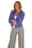 Looking business funky pants Royalty Free Stock Photos