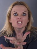 Furious woman Stock Photos