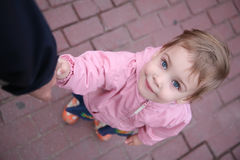 The looking child Royalty Free Stock Photography