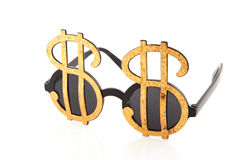 Looking for dollars Royalty Free Stock Image