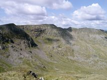 Looking from Dollywagon Pike to Nethermost Pike Stock Photo