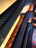 Looking down on all the 48 floors Royalty Free Stock Photo
