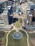 Looking down from the Arch! royalty free stock photos