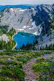 Looking Down On Baldy Lake Royalty Free Stock Photo