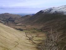 Looking down the Boredale valley Stock Photos