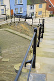 Looking down the famous Whitby steps Royalty Free Stock Photos