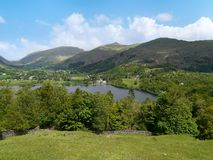Looking down on Grasmere, Lake District Royalty Free Stock Photography