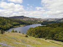 Looking down on Grasmere lake, Lake District Stock Photos