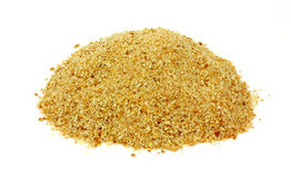 Looking Down Mound Bread Crumbs Royalty Free Stock Images