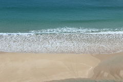 Looking down on Pedn Vounder Beach Royalty Free Stock Photos