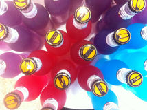 Array of drinks Stock Images