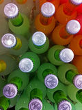 Array of drinks Stock Image