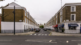 Looking Down Ponsonby Place SW1 City of Westminster Stock Images