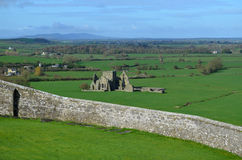 Looking Down at the Ruins of Hore Abbey Stock Photos