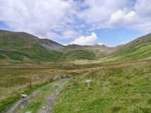 Looking down Scandale Bottom to the head of the valley Stock Photography