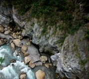 Looking Down Taroko Gorge Royalty Free Stock Image